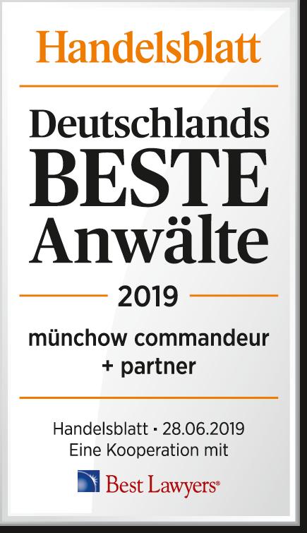 Deutschlands Beste Anwälte 2019